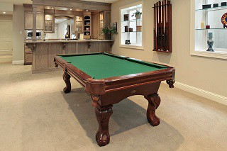 Professional pool table setup in Rochester content img4